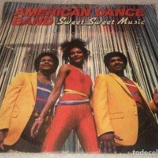 Discos de vinilo: SINGLE PROMOCIONAL AMERICAN DANCE BAND - SWEET SWEET MUSIC - GET IT ON - MOVIEPLAY -PEDIDO MINIMO 7€. Lote 287842553