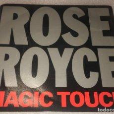 Discos de vinilo: SINGLE ROSE ROYCE - MAGIC TOUCH - SAFE AND WARM - KHAN 21 -PEDIDO MINIMO 7€. Lote 287846023