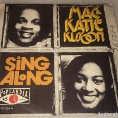 Discos de vinilo: SINGLE MAC AND KATIE KISSOON - SING ALONG - BLESS ME - POP LANDIA P30544 - PEDIDO MINIMO 7€. Lote 287849993