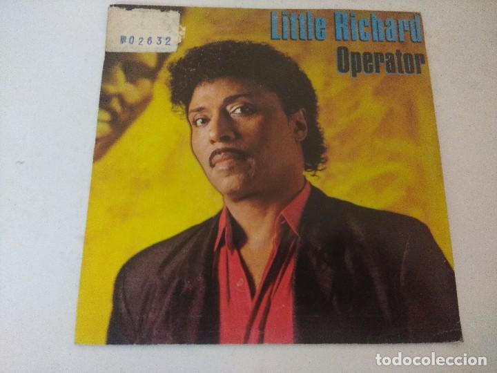 SINGLE/LITTLE RICHARD/OPERATOR/PROMOCIONAL. (Música - Discos - Singles Vinilo - Rock & Roll)