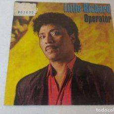 Discos de vinilo: SINGLE/LITTLE RICHARD/OPERATOR/PROMOCIONAL.. Lote 287850588