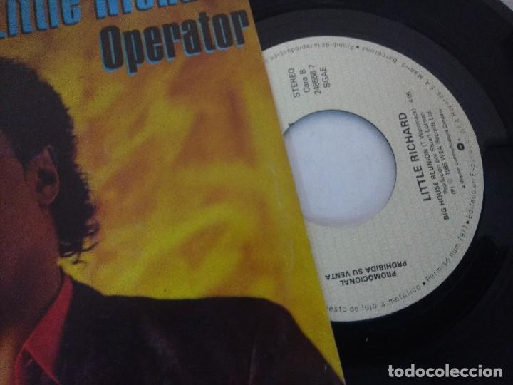 Discos de vinilo: SINGLE/LITTLE RICHARD/OPERATOR/PROMOCIONAL. - Foto 2 - 287850588