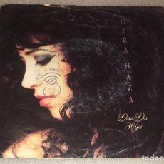 Discos de vinilo: SINGLE OFRA HAZA - DAW DA HIYA - MISTERY FATE AND LOVE - PEDIDO MINIMO 7€. Lote 287851593