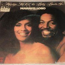 Discos de vinilo: SINGLE MARILYN MCCOO AND BILLY DAVIS JR - WONDERFUL - MY REASON TO BE IS YOU - PEDIDO MINIMO 7€. Lote 287852268