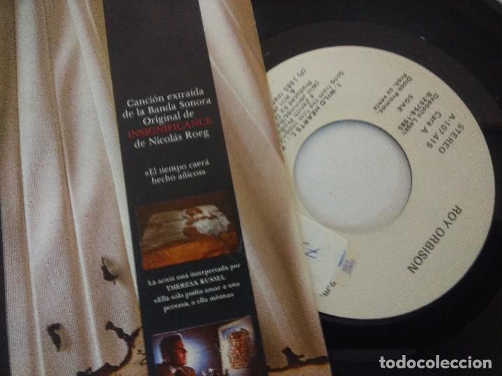 Discos de vinilo: SINGLE/ROY ORBISON/WILD HEARTS/PROMOCIONAL. - Foto 2 - 287852273