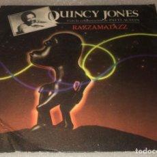 Discos de vinilo: SINGLE QUINCY JONES - RAZZAMATAZZ - VELAS - AM AMS9133 - PEDIDO MINIMO 7€. Lote 287853008