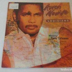 Discos de vinilo: SINGLE/AARON NEVILLE/LUISIANA.. Lote 287853758