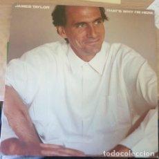 Discos de vinilo: JAMES TAYLOR. THATS WHY IM HERE. LP. Lote 287854803