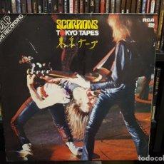 Discos de vinilo: SCORPIONS - TOKYO TAPES - 2 LP'S. Lote 287854823