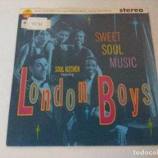 Discos de vinilo: SINGLE/LONDON BOYS/SWEET SOUL MUSIC.. Lote 287856333