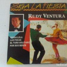 Discos de vinilo: SINGLE/RUDY VENTURA/MARIA LOLA/PROMOCIONAL. Lote 287857083