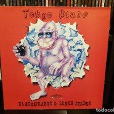 Discos de vinilo: TOKYO BLADE - BLACKHEARTS & JADED SPADES. Lote 287858243