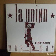 Discos de vinilo: LA UNION --- MAS Y MAS - MAXI SINGLE. Lote 287858738