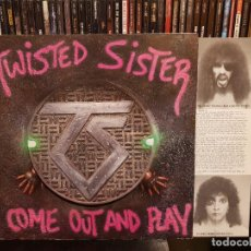 Discos de vinilo: TWISTED SISTER - COME OUT AND PLAY. Lote 287859838