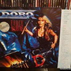 Discos de vinilo: DORO - FORCE MAJEURE. Lote 287860968