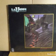 Discos de vinilo: LA UNION ---- LOBO HOMBRE EN PARIS - MAXI SINGLE. Lote 287861248