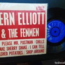 Discos de vinilo: EP BERN ELLIOT & THE FENMEN: PLEASE MR. POSTMAN, CHILLS, MASHED POTATOES + 3. Lote 287875398