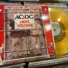 Discos de vinilo: AC/DC HIGH VOLTAGE LP DISCO DE VINILO A COLOR AUSTRALIA. Lote 287876488