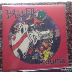 Discos de vinilo: BLOUNT - TRAUMA (PUNK, ROCK) RARE, RARE LP RED VINYL 1991 FEARLESS RECORDS US. M-NM. Lote 287882063