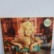 Discos de vinilo: MARILYN MONROE: EXT.PLAY- ITALIA RCA ORIGINAL- BELLEZA DE PORTADA-MUY BUEN ESTADO- COLECCIONISTAS. Lote 287882358