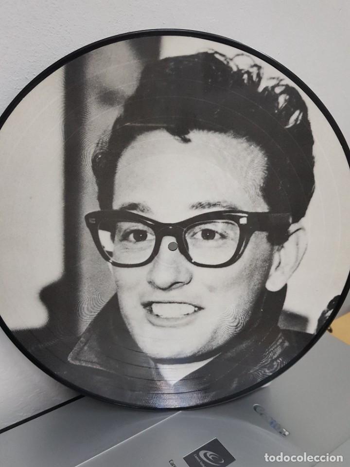 Discos de vinilo: BUDDY HOLLY: PICTURE DISC-FOTODISCO 1984 CON 12 TEMAS- EXCELENTE SONIDO Y DOBLE FOTO- COLECCIONISTAS - Foto 2 - 287882493