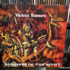 Discos de vinilo: VICIOUS RUMORS - SOLDIERS OF THE NIGHT. Lote 287883123