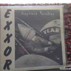 Discos de vinilo: EXXOR - ASPHALT PARADISE (HARDCORE, THRASH) RARE LP 1989 DESERT ENGINE RECORDS. M-NM. Lote 287883333