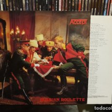 Discos de vinilo: ACCEPT - RUSSIAN ROULETTE. Lote 287884283
