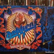 Discos de vinilo: DOKKEN - BACK FOR THE ATTACK. Lote 287885108
