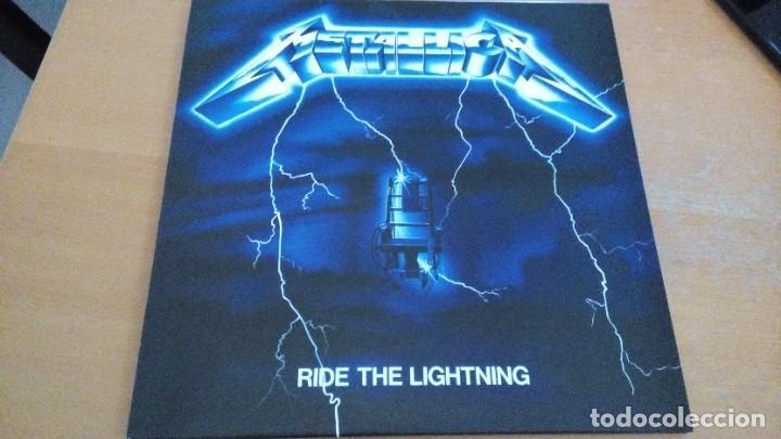 METALLICA RIDE THE LIGHTNING LP (Música - Discos - LP Vinilo - Heavy - Metal)