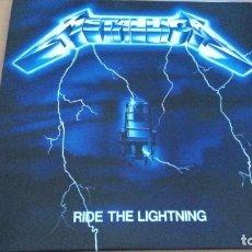 Discos de vinilo: METALLICA RIDE THE LIGHTNING LP. Lote 287885203
