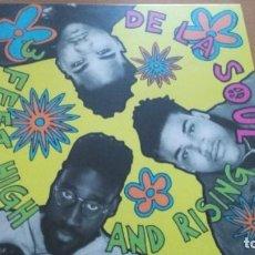 Discos de vinilo: DE LA SOUL THREE FEET HIGH AND RISING LP 180 GRAMOS. Lote 287887013