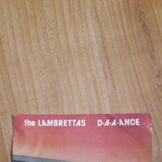 Discos de vinilo: THE LAMBRETTAS. DAAANCE. Lote 287888458