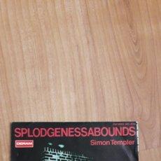 Discos de vinilo: SPLODGENESSABOUNDS. SIMON TEMPLER. Lote 287889468