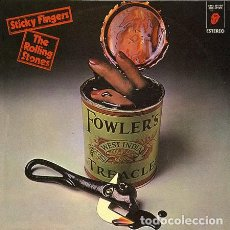 Discos de vinilo: ROLLING STONES STICKY FINGERS LP VINILO. Lote 287889953