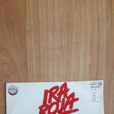 Discos de vinilo: RED BOX EL ROJO. IRA ROJA. Lote 287890353