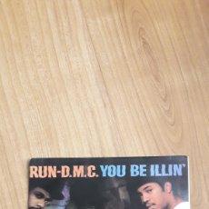 Discos de vinilo: RUN-DMC. YOU BE ILLIN. Lote 287890473