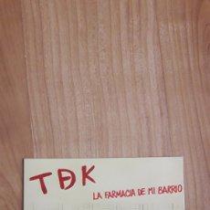 Discos de vinilo: TDK. TDEK. T DE K. FARMACIA DE MI BARRIO. Lote 287890743