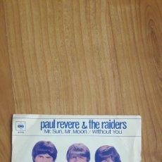 Discos de vinilo: PAUL REVERE & THE RAIDERS. MR SUN, MR MOON. Lote 287891433