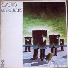 Discos de vinilo: CACTUS – RESTRICTIONS -LP-. Lote 287892083