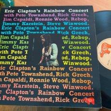 Discos de vinilo: ERIC CLAPTON (RAINBOW CONCERT) LP ESPAÑA 1973 GAT. (B-33). Lote 287892753