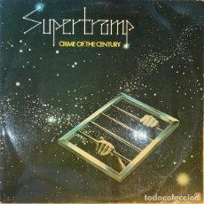 Discos de vinilo: SUPERTRAMP – CRIME OF THE CENTURY -LP / SPAIN-. Lote 287893613