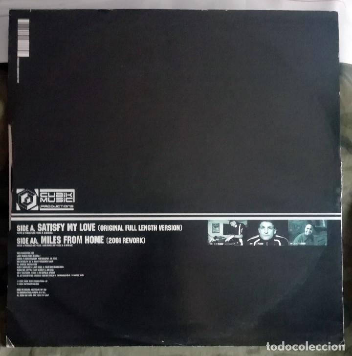 Discos de vinilo: Peshay vs. Flytronix – Satisfy My Love / Miles From Home UK 2002 Drum n Bass - Foto 2 - 287896183