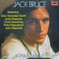 Discos de vinilo: JACK BRUCE – SONGS FOR A TAILOR -LP-. Lote 287896443