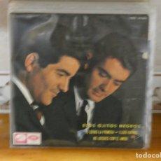 Discos de vinilo: CAJSING19 DISCO 7 PULGADAS EL DUO DINAMICO ESOS OJITOS NEGROS. Lote 287897653