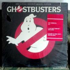 Discos de vinilo: GHOSTBUSTERS LP, LOS CAZAFANTASMAS - INDIANAPOLIS PRESSING USA 1984 CONSERVA PRECINTO CON ADHESIVO. Lote 287898233