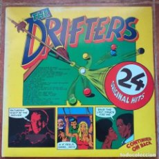 Discos de vinilo: DRIFTERS - 24 ORIGINAL HITS (LP2) 1975. Lote 287903893