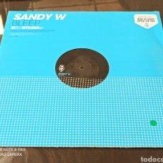 "Discos de vinilo: SANDY W - BLEEP (12""). Lote 287907578"