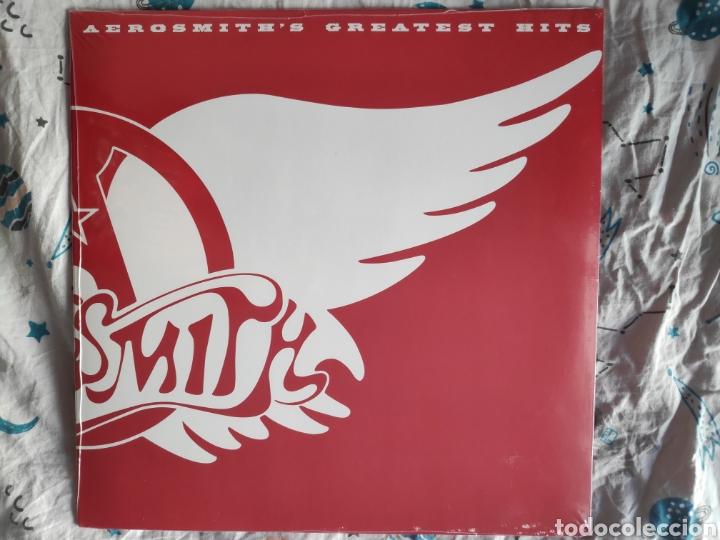 ÁLBUM LP DISCO VINILO AEROSMITH GREATEST HITS NUEVO (Música - Discos - LP Vinilo - Rock & Roll)