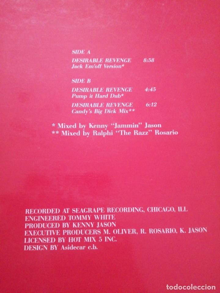 Discos de vinilo: Disco de música LP vinilo maxi single CANDY J THE SAGA OF SWEET PUSSY PAULINE DESIRABLE REVENGE - Foto 2 - 287910088